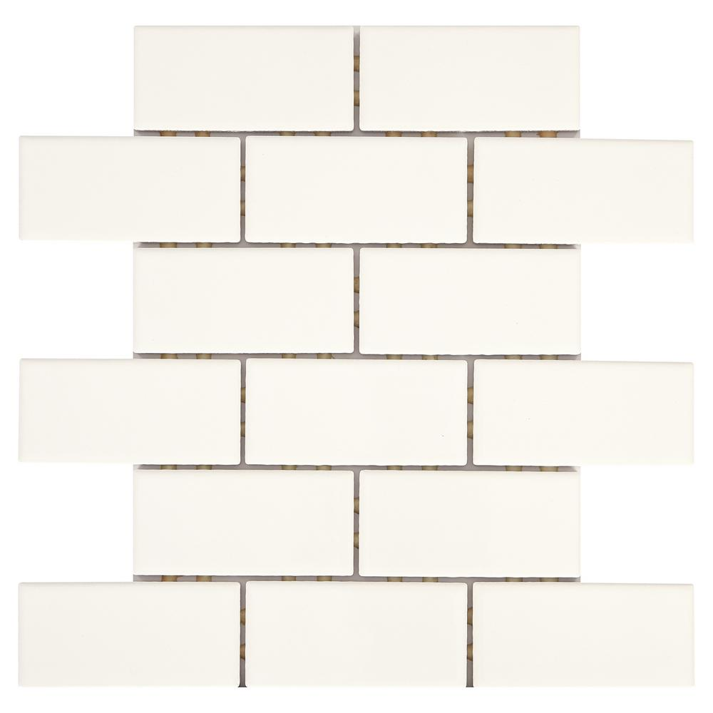 Daltile Re Bright White 12 In X