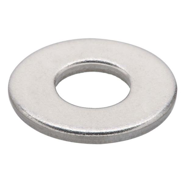 #10 Stainless Steel Flat Washer (12-Pack)