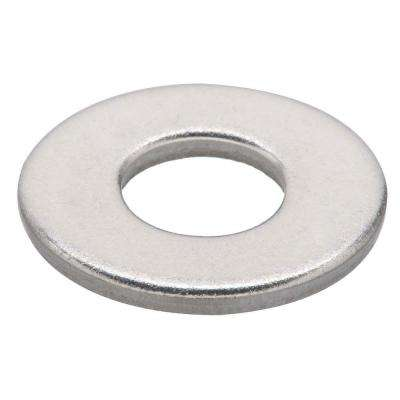 1/4 in. Stainless-Steel Flat Washer (6-Pack)
