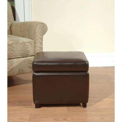 Storage Square Ottomans Living Room Furniture The Home Depot