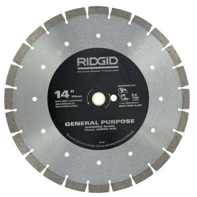 14 in. Segmented High-Rim Diamond Blade