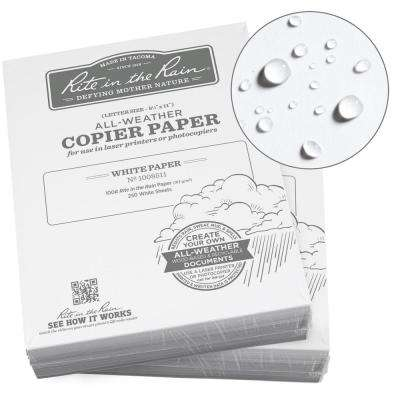 All-Weather 8-1/2 in. x 11 in. 100 lbs. Printer Paper, White (500-Sheet Pack)
