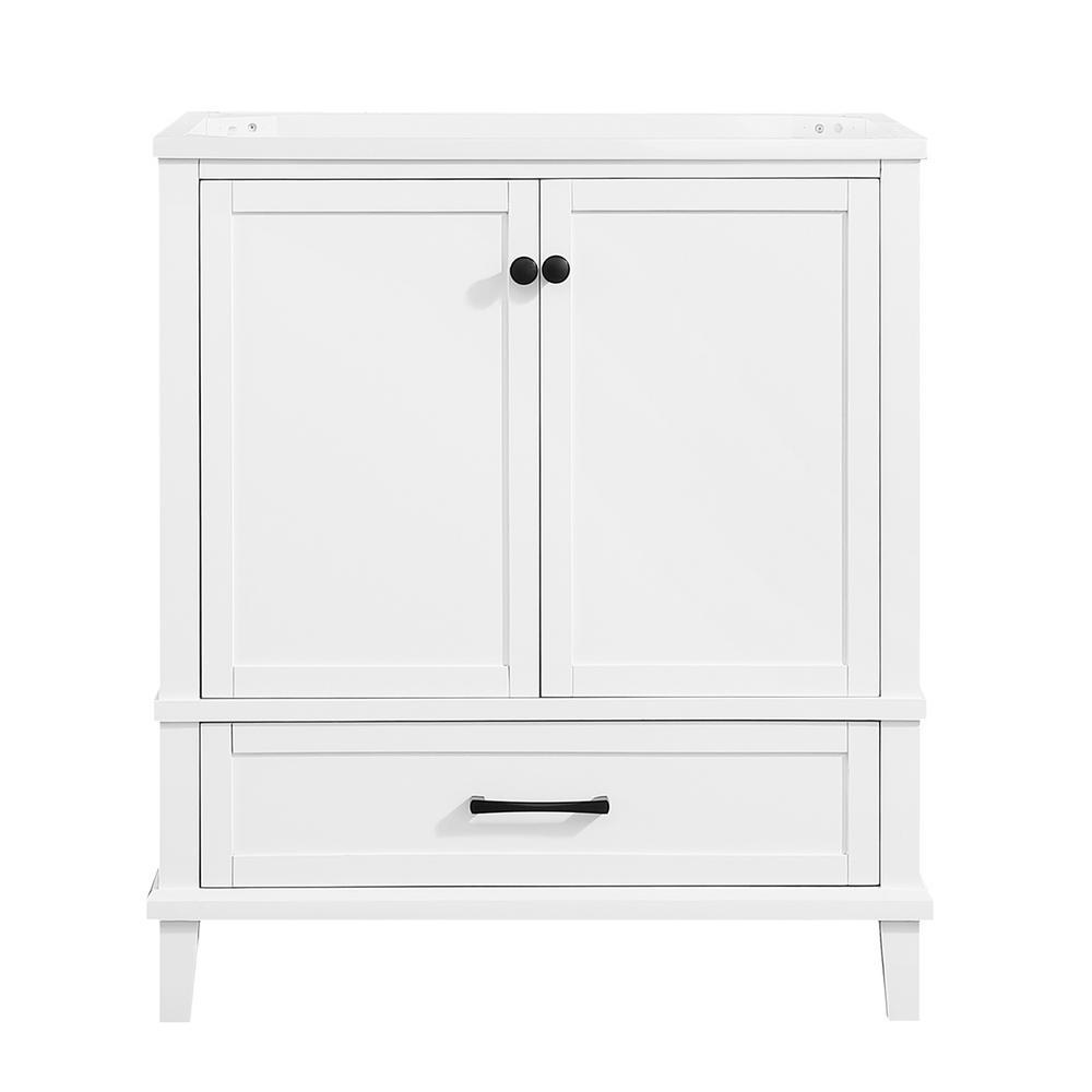 Merryfield 30 in. W x 21-1/2 in. D Bathroom Vanity Cabinet Only in White