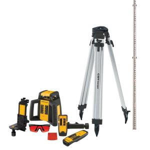 CST/Berger 2000 ft. Self-Leveling Horizontal/Vertical Rotating Laser Level Kit (10-piece) by CST/Berger