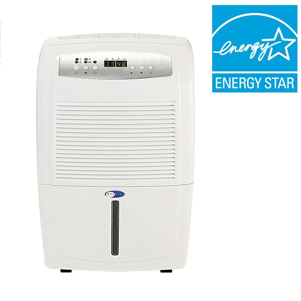 70-Pint Portable Dehumidifier with Pump, ENERGY STAR