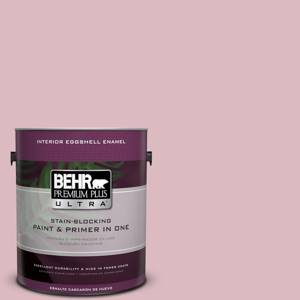 BEHR Premium Plus Ultra 1-gal. #S130-2 Shy Smile Eggshell Enamel Interior Paint