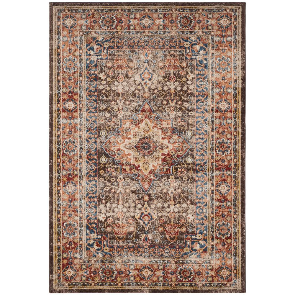 Safavieh Bijar Brown Rust 9 Ft X 12 Ft Area Rug Bij652d 9 The