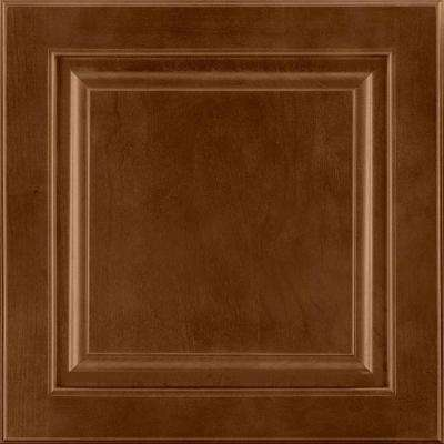 14-9/16x14-1/2 in. Cabinet Door Sample in Portola Cherry Spice