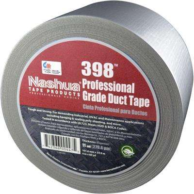 4 in. x 60 yds. 398 All-Weather Silver HVAC Duct Tape