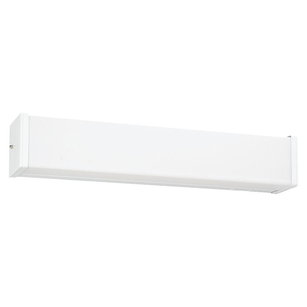 Sea Gull Lighting Multi-Volt 2-Light White Ceiling and Wall Mount Vanity Light