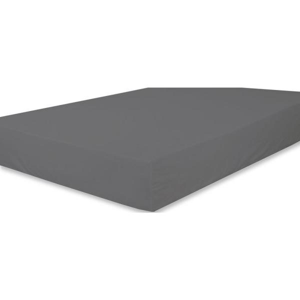 824a3926 A1 Home Collections Organic Cotton Wrinkle Resistant Fitted Sheet Extra  Deep Pockets A1HCFTS04-DARKGREY - The Home Depot