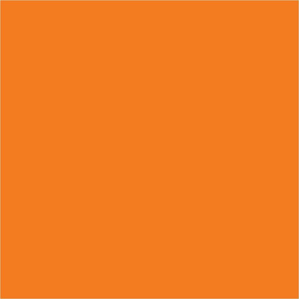 WallPOPs 13 in. x 13 in. Totally Orange Blox 10-Piece Wall Decal