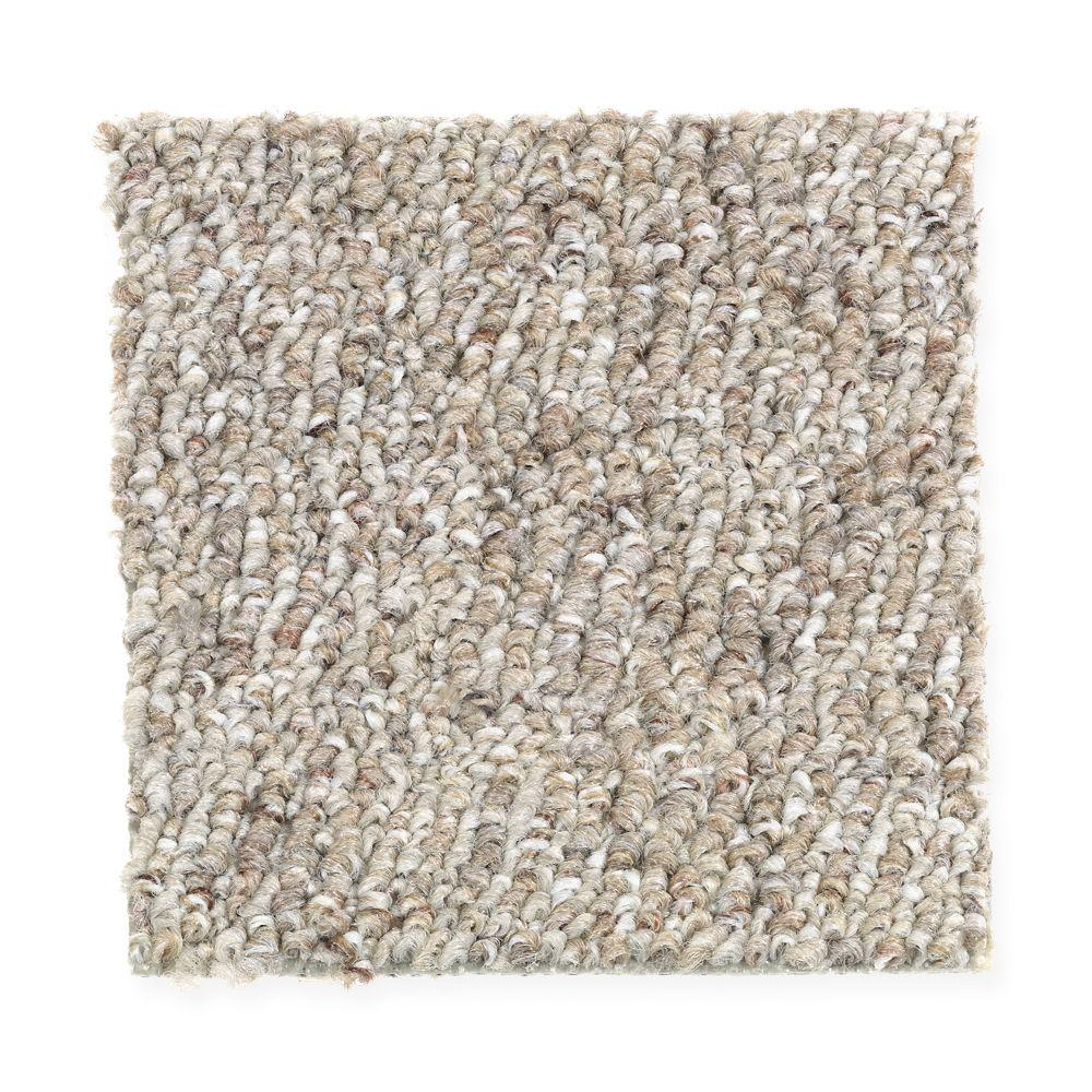 TrafficMASTER Carpet Sample - Kent - Color Driftwood 8 in. x 8 in.