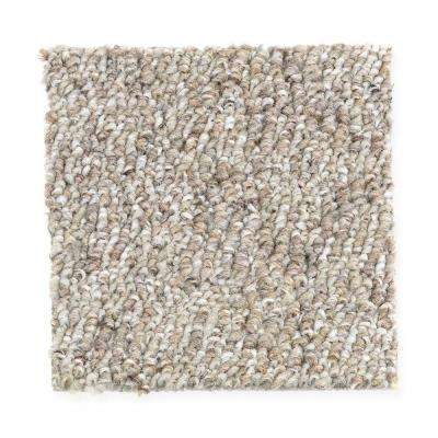 Carpet Sample - Kent - Color Driftwood 8 in. x 8 in.