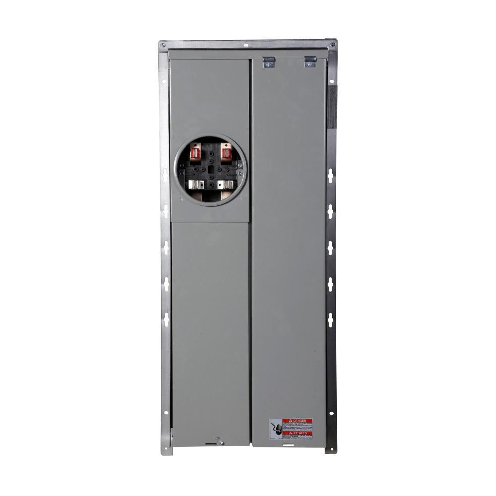 BR 225 Amp 40-Circuit Outdoor EUSERC Meter Breaker Panel