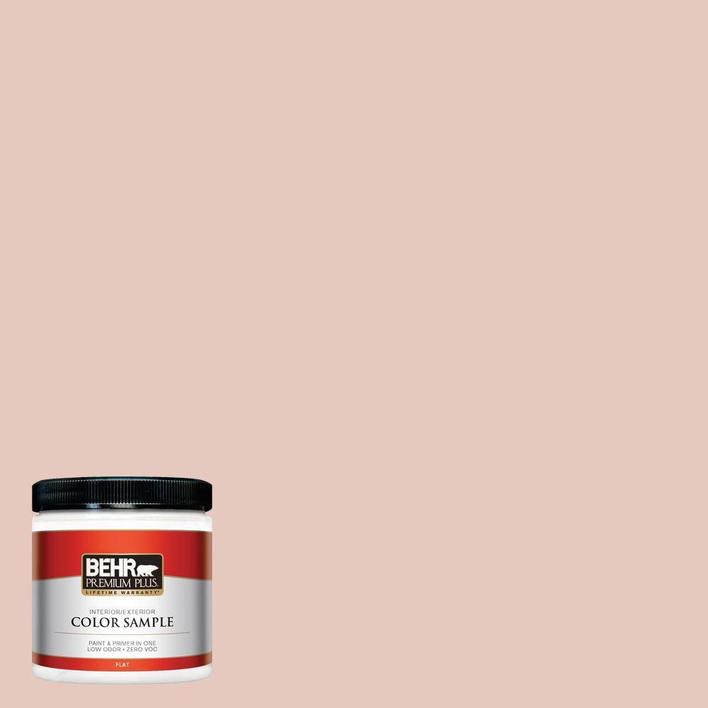 8 oz. #210E-3 Almond Willow Interior/Exterior Paint Sample