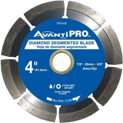 4 in. Segmented Diamond Blade