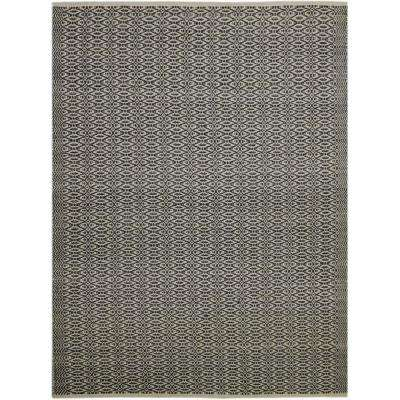 Zoelie Charcoal 3 ft. x 5 ft. Rectangle Area Rug