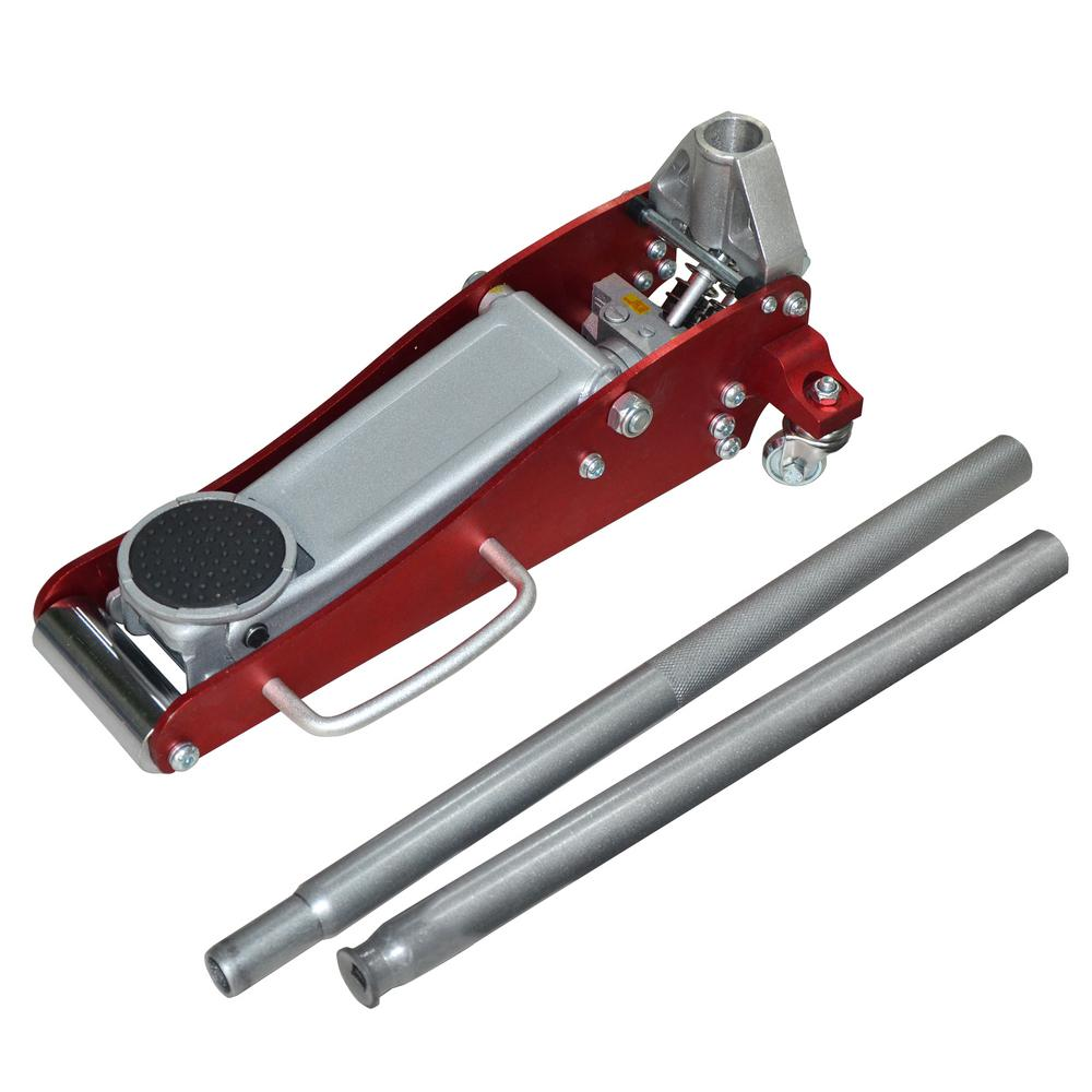Speedway 1 5 Ton High Speed Aluminum Floor Jack 7300 The
