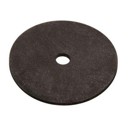 1/2 in. x 2 in. Black Neoprene Washer