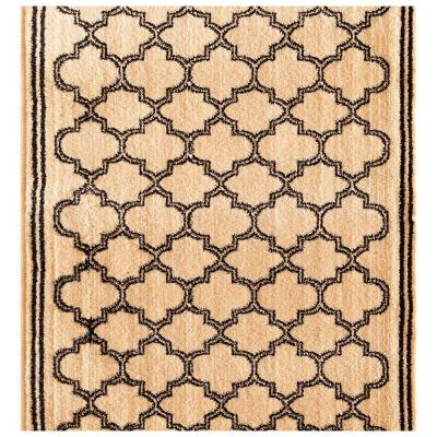 Stratford Garden Gate Ivory 26 in. x Your Choice Length Stair Runner
