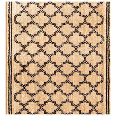 Stratford Garden Gate Ivory 33 in. x Your Choice Length Stair Runner