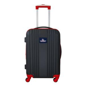 NCAA Gonzaga 21 in. Red Hardcase 2-Tone Luggage Carry-On Spinner Suitcase