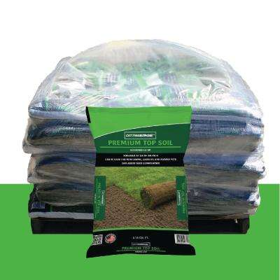 0.75 cu. ft. Screened at 3/8 in. Premium Quality Topsoil (Loam) Pallet (49 Bags)