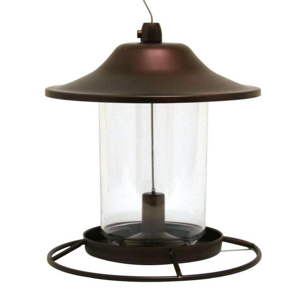 Brown Panorama Hanging Bird Feeder - 2 lb. Capacity