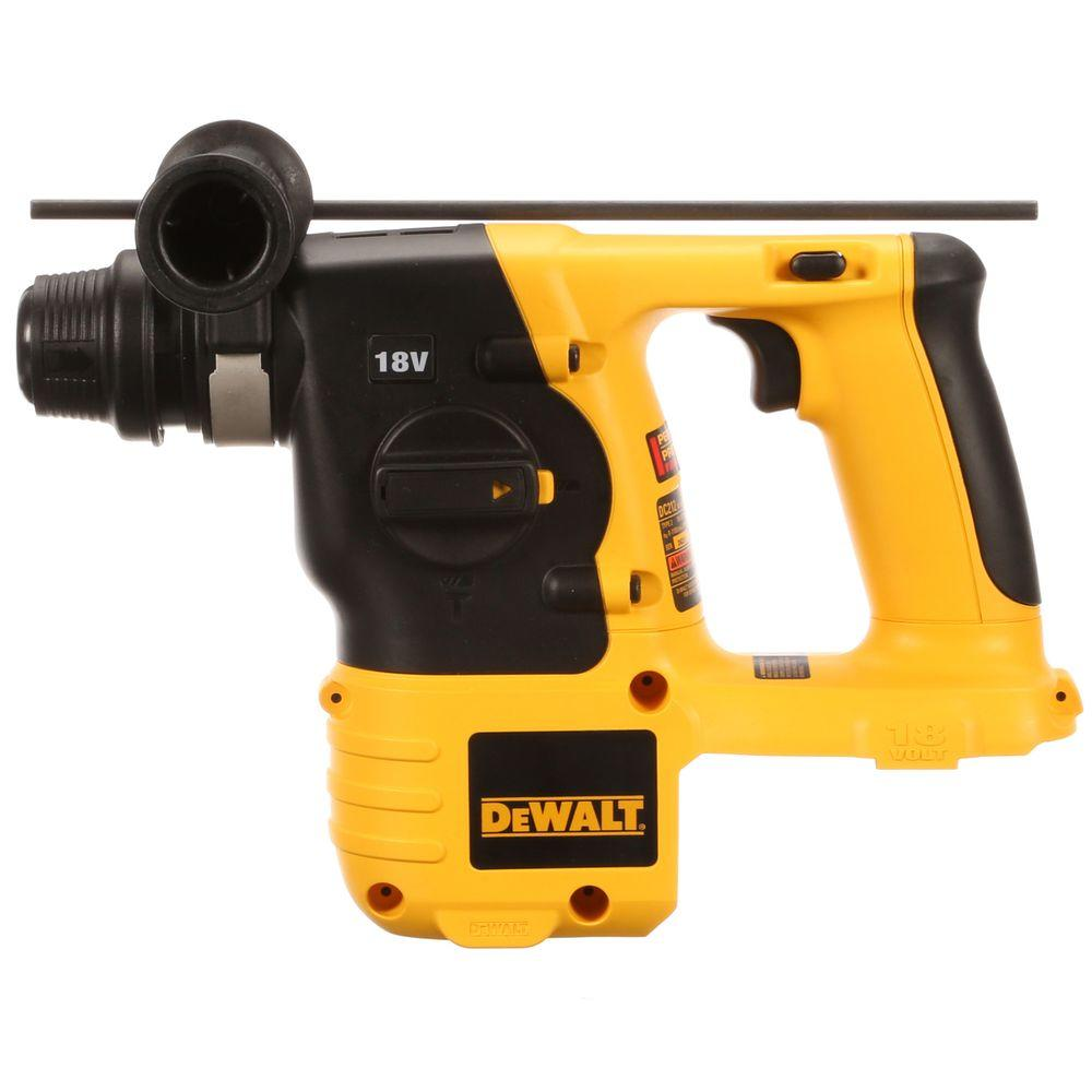 DEWALT 18-Volt NiCd Cordless 7/8 in. SDS Rotary Hammer (Tool-Only)