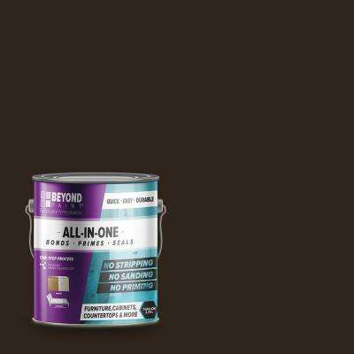 1 gal. Mocha Furniture, Cabinets, Countertops and More Multi-Surface All-in-One Interior/Exterior Refinishing Paint