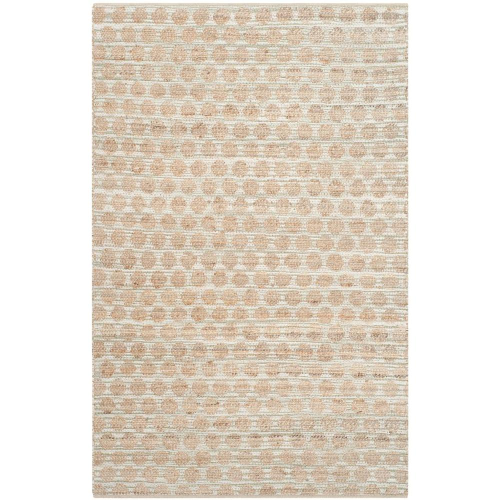 Cape Cod Grey/Natural 5 ft. x 8 ft. Area Rug