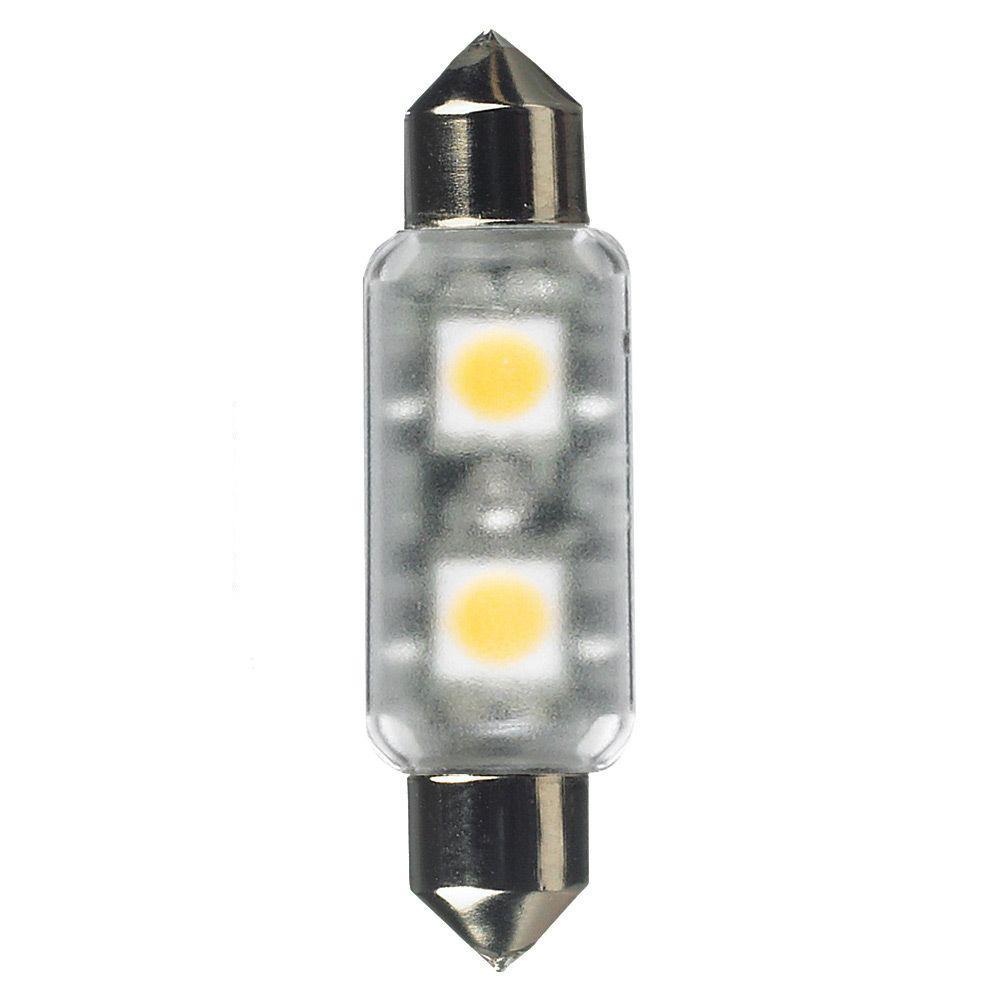 Ambiance 12-Volt LED Frosted Festoon Lamp (3000K)