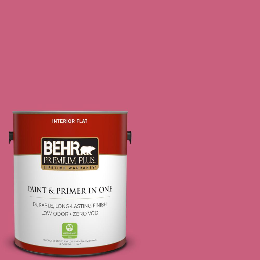 BEHR Premium Plus 1-gal. #P130-6 Ballerina Tutu Flat Interior Paint