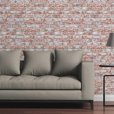 Red Rustic Brick by Raygun Removable Wallpaper Panel