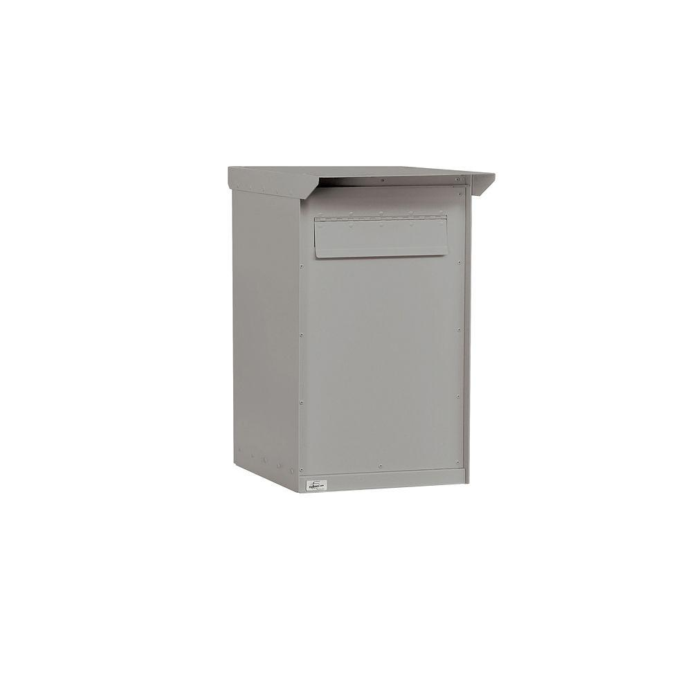 Salsbury Industries 4200 Series 15.75 in. W x 27 in. H x 19 in. D Regular Pedestal Drop Box in Primer