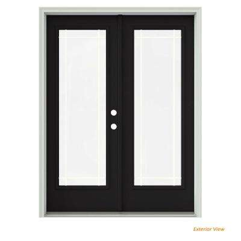 Steel Patio Doors Exterior Doors The Home Depot