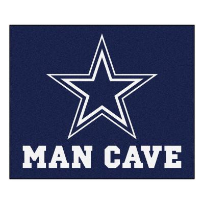 Dallas Cowboys Blue Man Cave 5 ft. x 6 ft. Area Rug