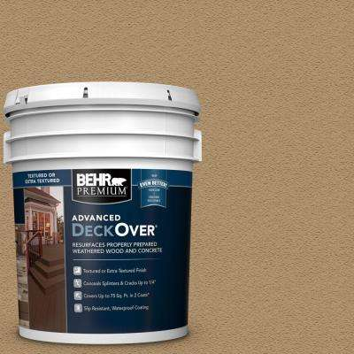 5 gal. #SC-145 Desert Sand Textured Solid Color Exterior Wood and Concrete Coating