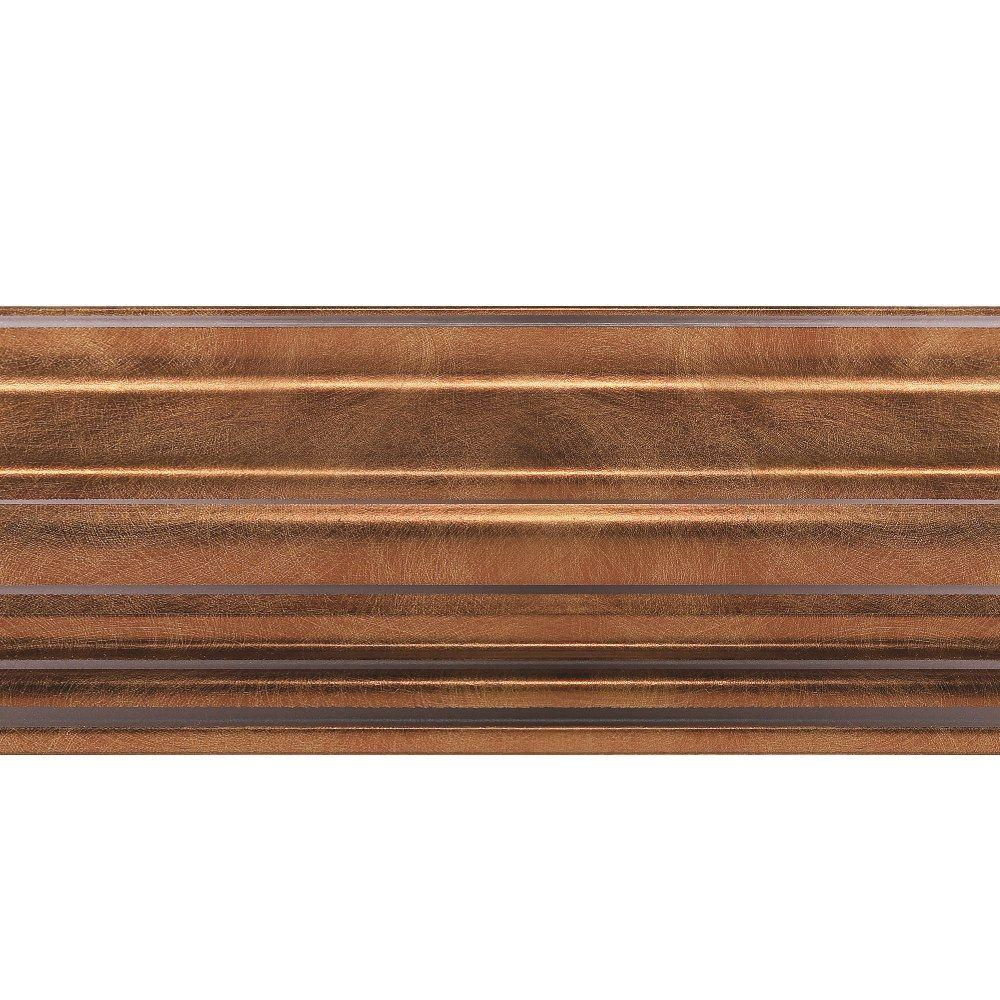 1.063 in. x 6 in. x 96 in. Wood Antique Bronze