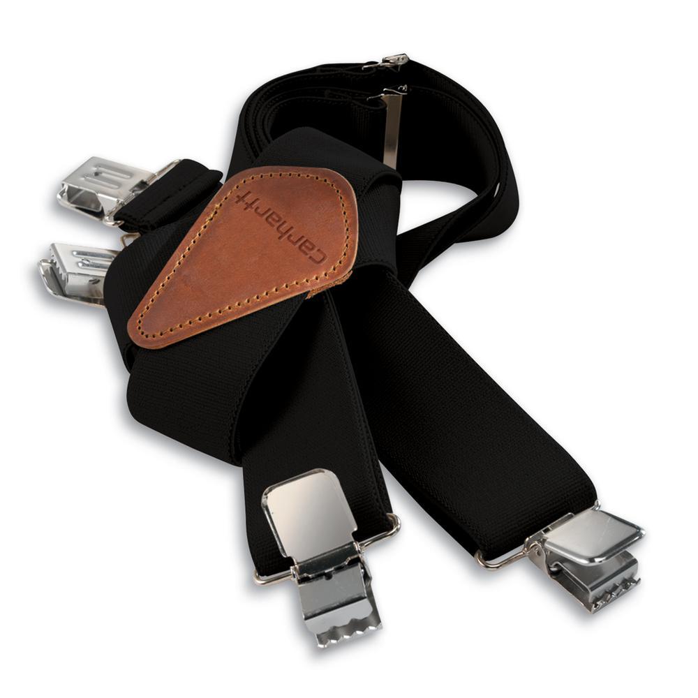 Carhartt Mens Elastic Black Utility Rugged Flex Suspender