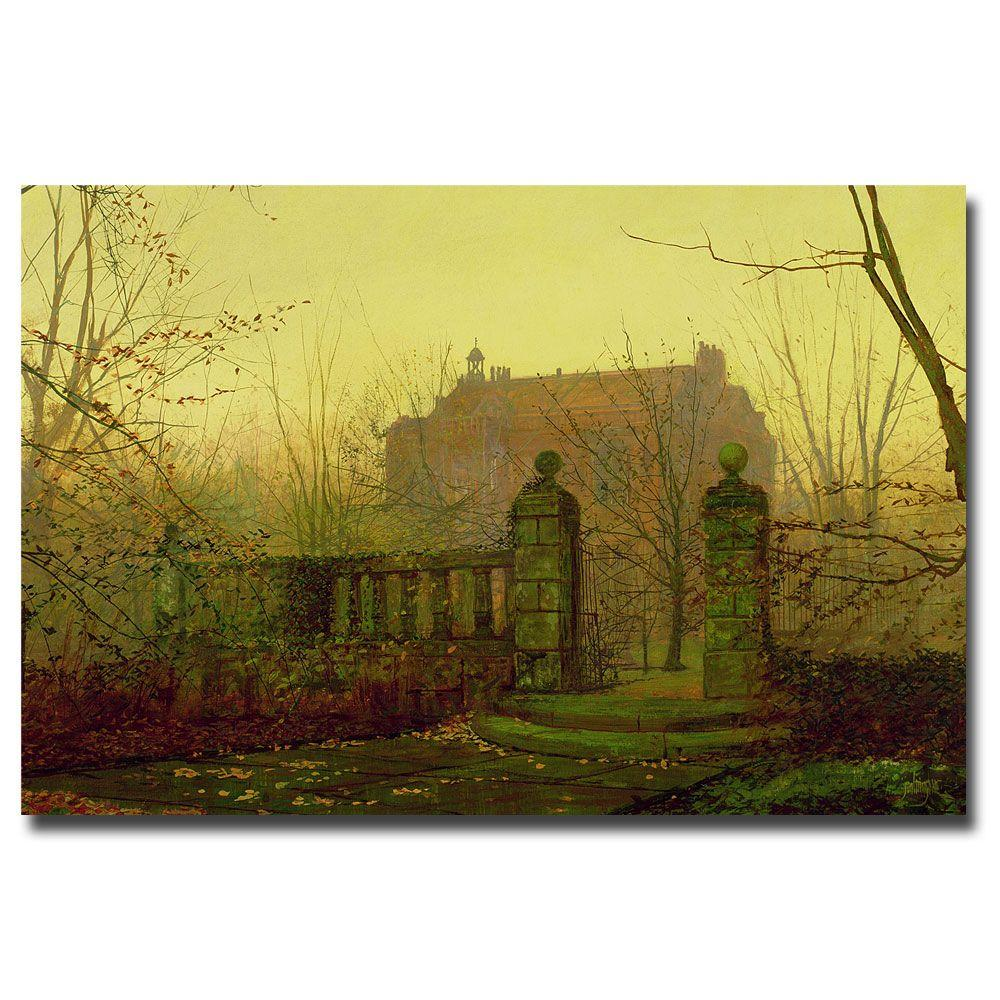 22 in. x 32 in. Autumn Morning Canvas Art