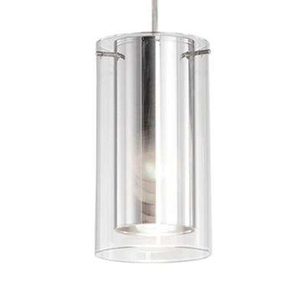 Nevaeh 1-Light Brushed Nickel Pendant