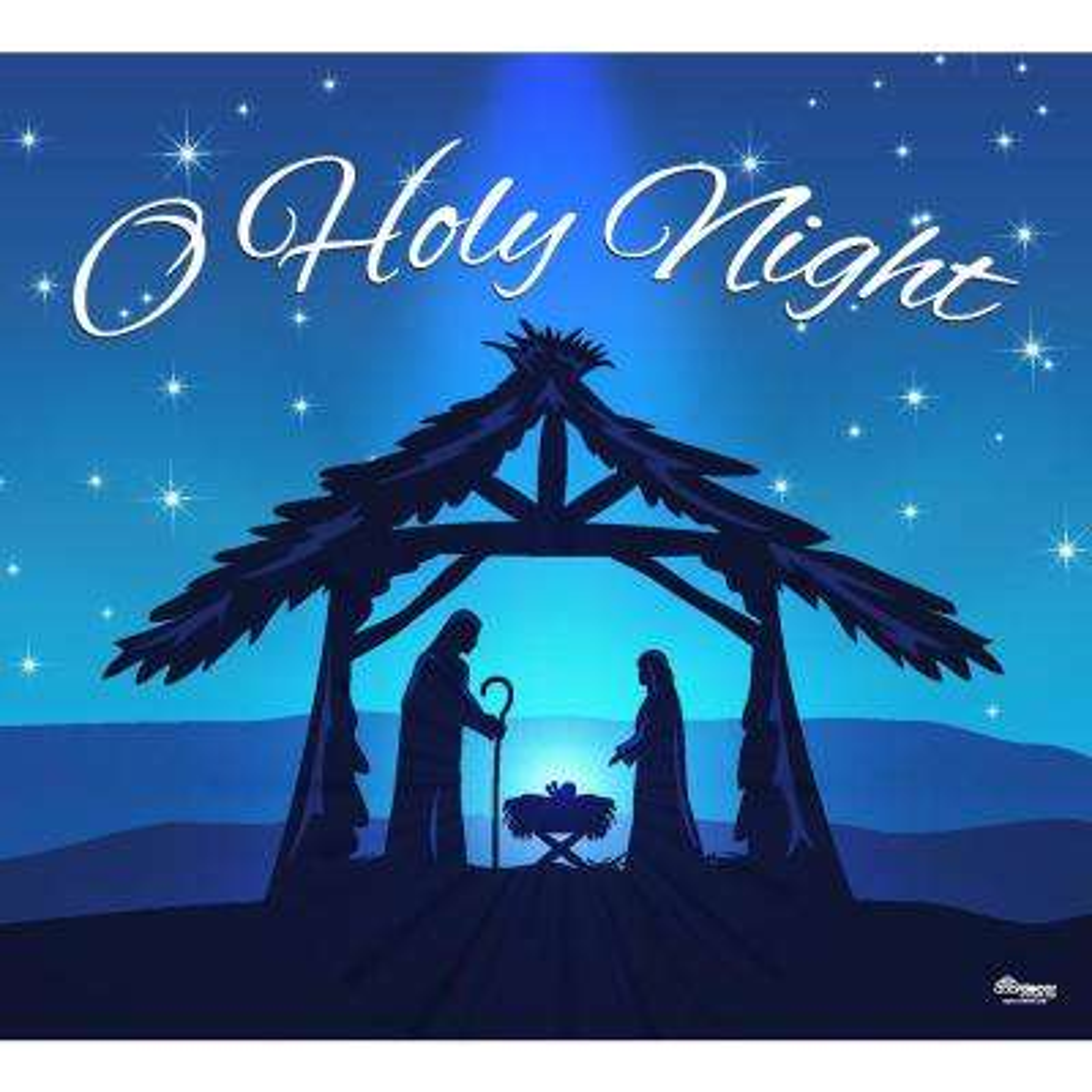 7 ft. x 8 ft. Nativity Scene O'Holy Night-Christmas Garage Door Decor Mural for Single Car Garage