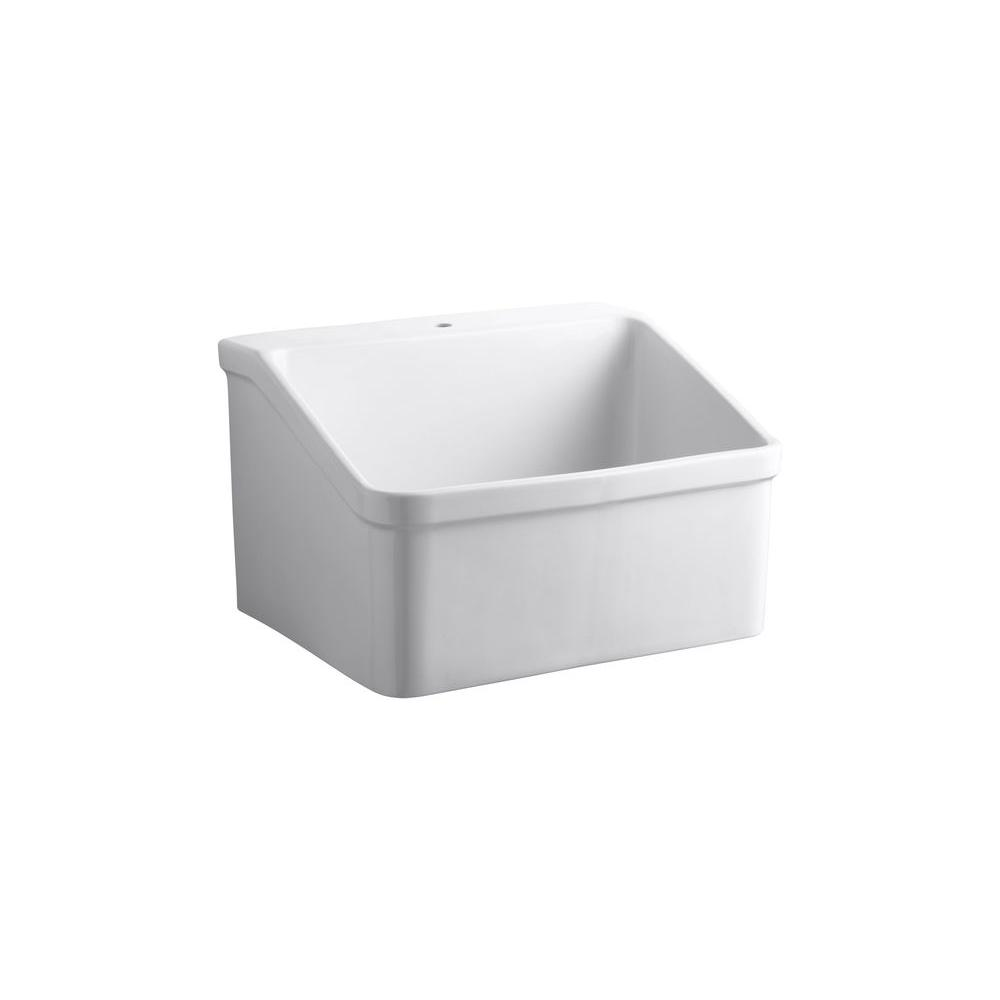 Vitreous China Utility Sink