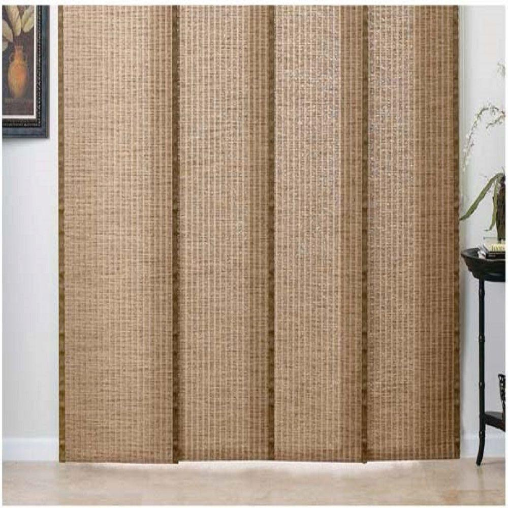 MyBlinds Woven Wood Panel Track