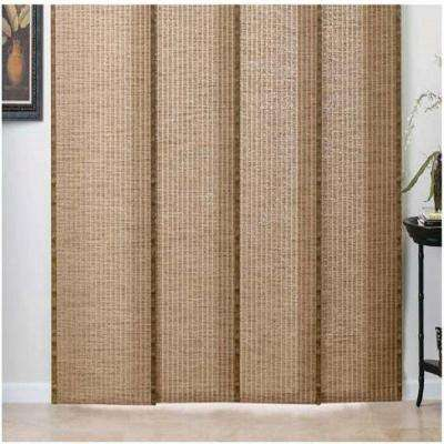 Ordinaire Woven Wood Panel Track