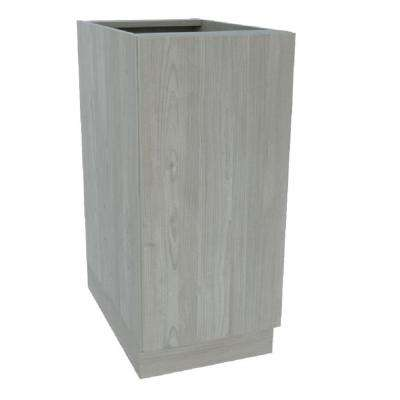 Ready to Assemble 24 in. x 34-1/2 in. x 21 in. Vanity Sink Base Cabinet in Nordic Grey Wood