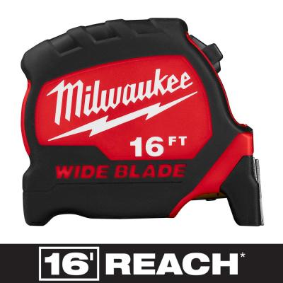 16 ft. x 1.3 in. Wide Blade Tape Measure with 17 ft. Reach