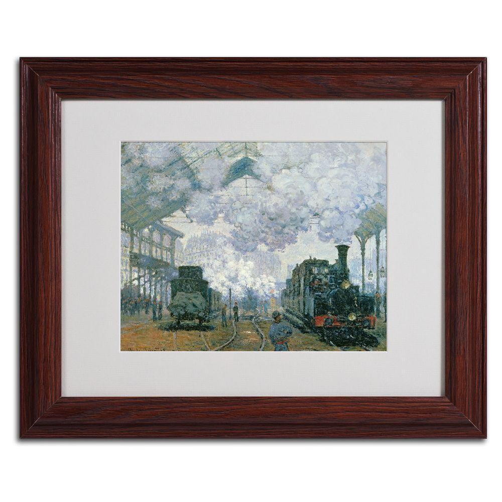 11 in. x 14 in. Gare Saint-Lazare Arrival of a Train